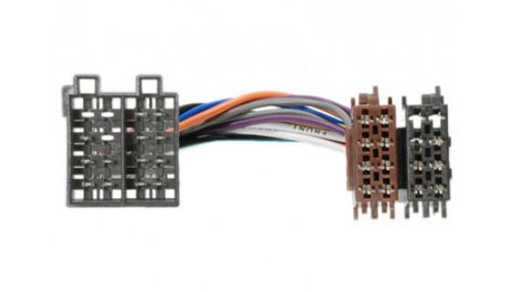 RTA 004.150-3 Adapterkabel ISO, OPEL / SAAB mit 16-pol ISO Gehäuse auf UNI