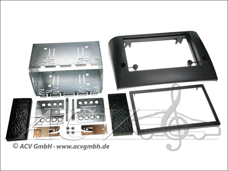 Double-DIN installation du kit Fiat Stilo