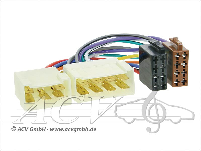 ACV 1313-02 Radioanschlusskabel Tata Motors