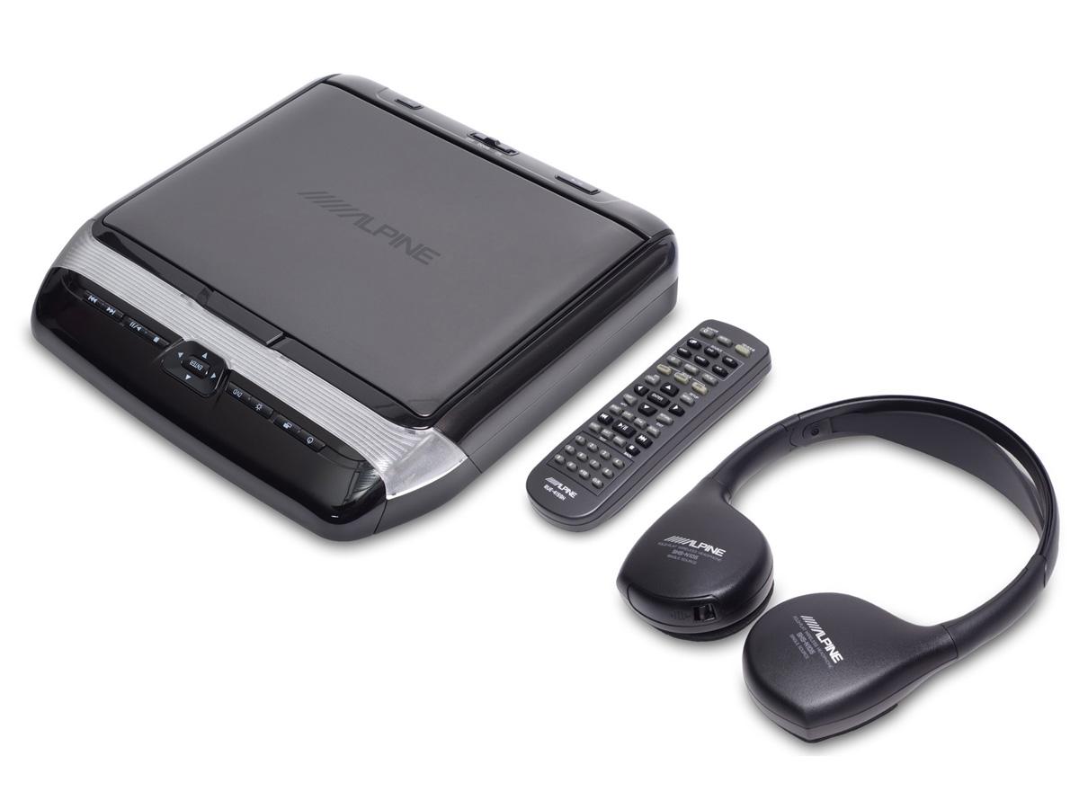 Alpine PKG-RSE3HDMI 26 cm (10,1-Zoll) Decken-Monitor mit DVD-Player und HDMI-Eingang