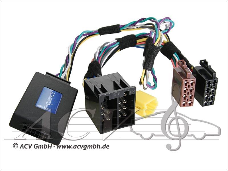 42-RN-505 CAN-Bus direction adaptateur de roue Renault Bj.05 -> Blaupunkt