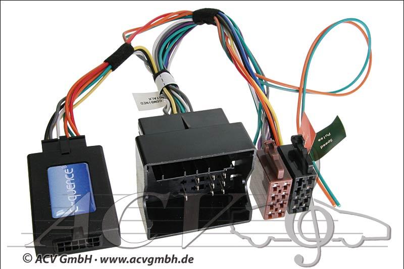 ACV 42-CT-604 CAN-Bus steering wheel adapter Citroen -> Sony