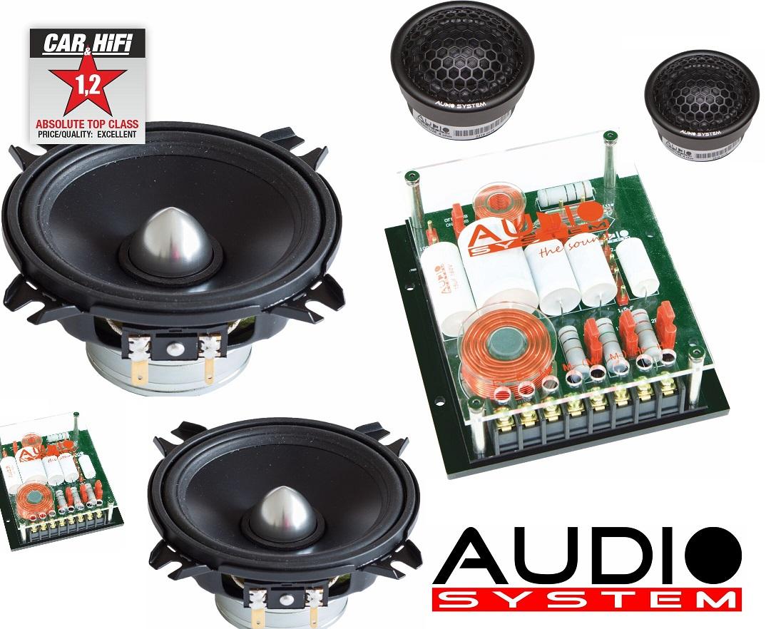 Audio System HX 100 PHASE EVO 2 HX-SERIES PHASE 10 cm 2-Wege Komponentensystem