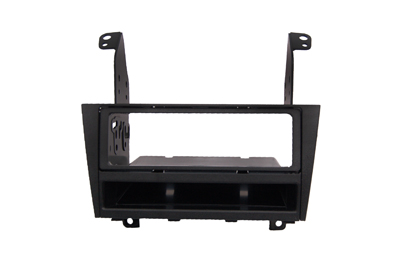RTA 002.215-0 Double DIN mounting frame ABS black hole for mounting radio 184.5 x 105mm