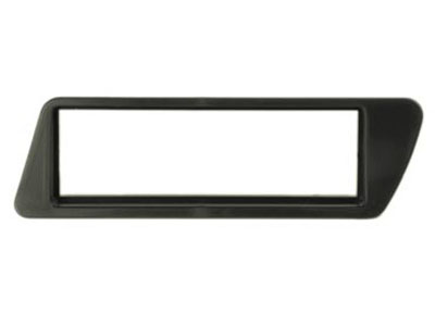 RTA 000.293-0 1 - DIN mounting frame, ABS black