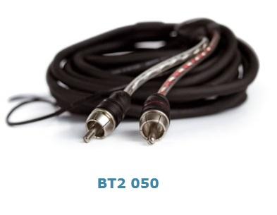 Connection Audison BT2 050 - 2-Kanal Cinchkabel 50 cm STEREO RCA CABLE 50cm