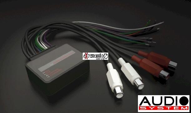 Audio System HLA4 High-Low Adapter HLA-4  Signalwandler