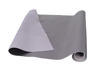 RTA 252.918-0 Kunstleder PVC - Karbonfaser-Struktur - Farbe: silber - Bielastik