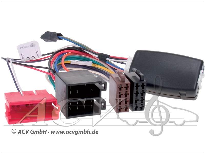 42-1086-600 direction adaptateur de roue DAEWO Chevrolet mini-ISO -> Sony
