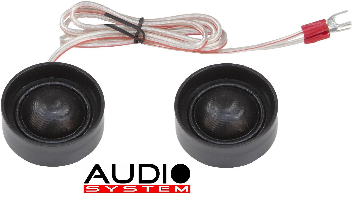 Audio System HS 24 EM EVO 2 25 mm Gewebe-Unterbau-Neodymhochtöner 1 Paar Hochtöner Tweeter