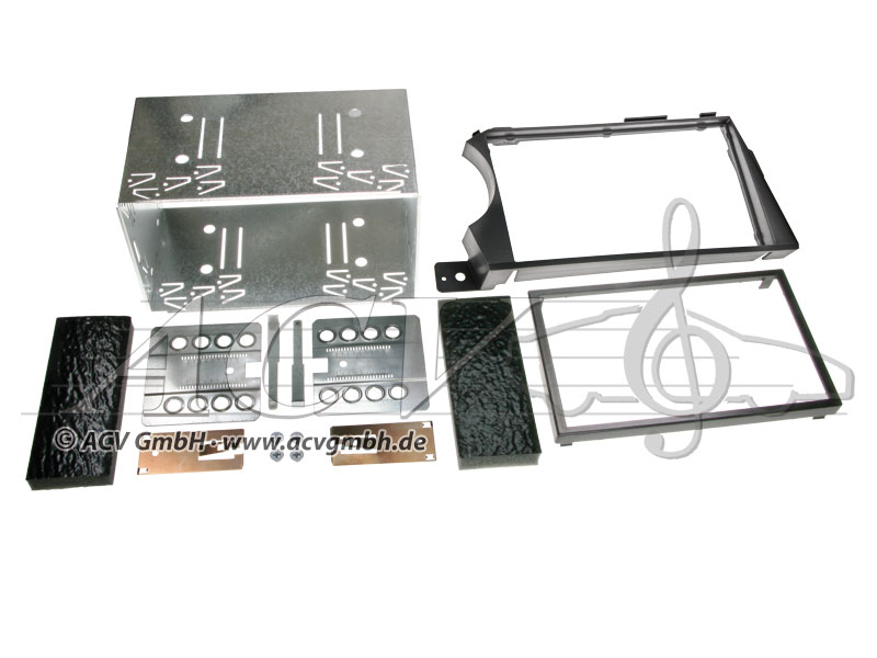 Double DIN complet pour SsangYong Actyon Kyron /