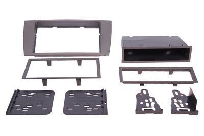 RTA 002.252-0 Multi Einbaurahmen Kit mit Ablagefach, Ausführung ABS grau JAGUAR S Type, JAGUAR X Type