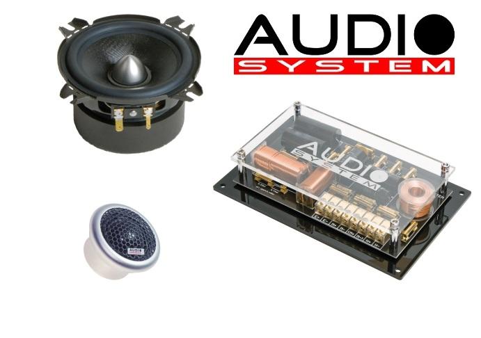 Audio System HX 100 Phase 10cm High-End 2-Wege-System