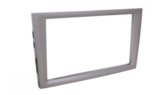 RTA 002.144P11-0 Double DIN Senior Aperture , Silver Grey Metallic Opel without kink 00 >