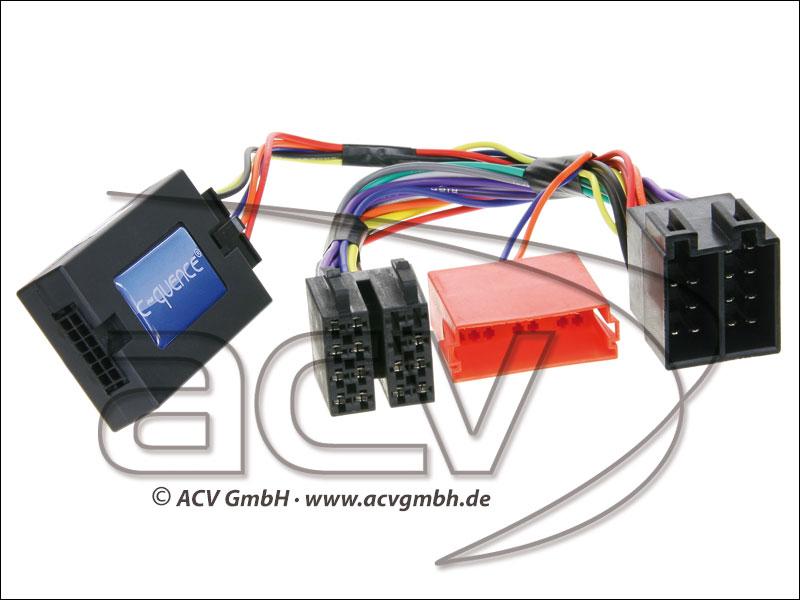 42-KI-202 Adapter Kia Soul, Ceed/Sorento none amplified->Pana
