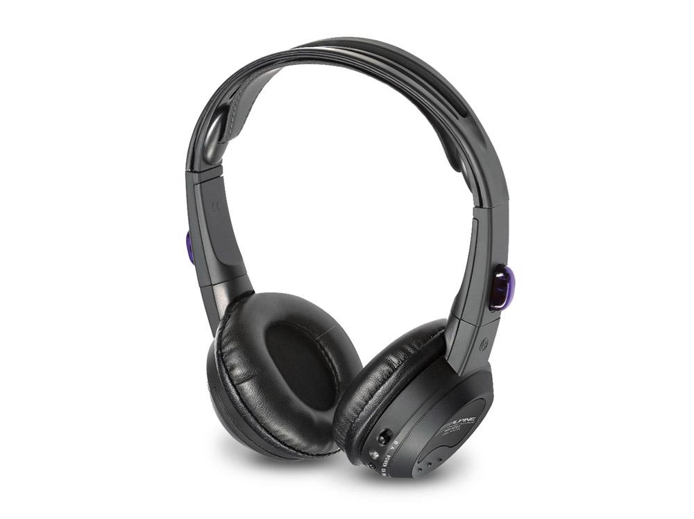 Alpine SHS-N207 Flacher Kabeloser Kopfhörer für zwei Quellen 2-Kanal-Infrarot Kopfhörer