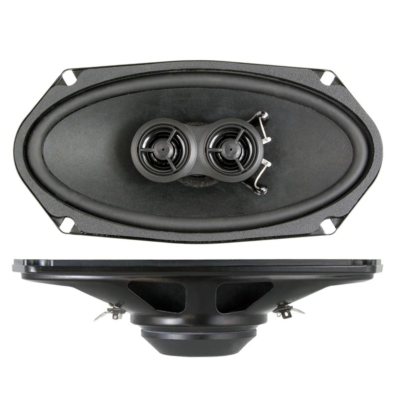"""RETROSOUND R-483N Lautsprecher 4""""x8"""", 101x202mm, Neodym Coax Speaker 1 Paar (2 Stück)"""