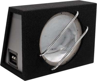 "AMPIRE BFL250 Subwoofer Enclosures, 25cm/10 ""(FLAT10) 14.5"