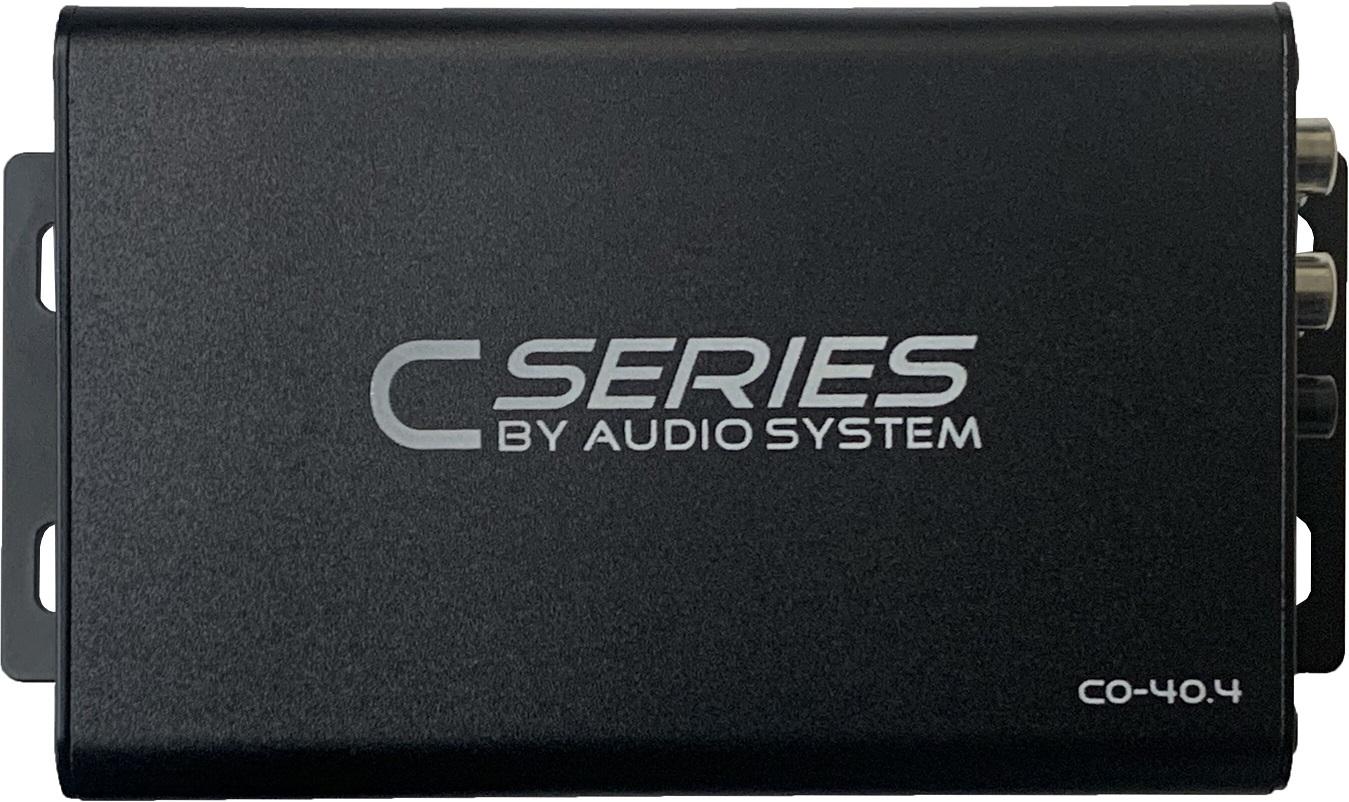 Audio System CO-40.4 CO SERIES 4-Kanal IC-Verstärker 240 Watt RMS Amplifier