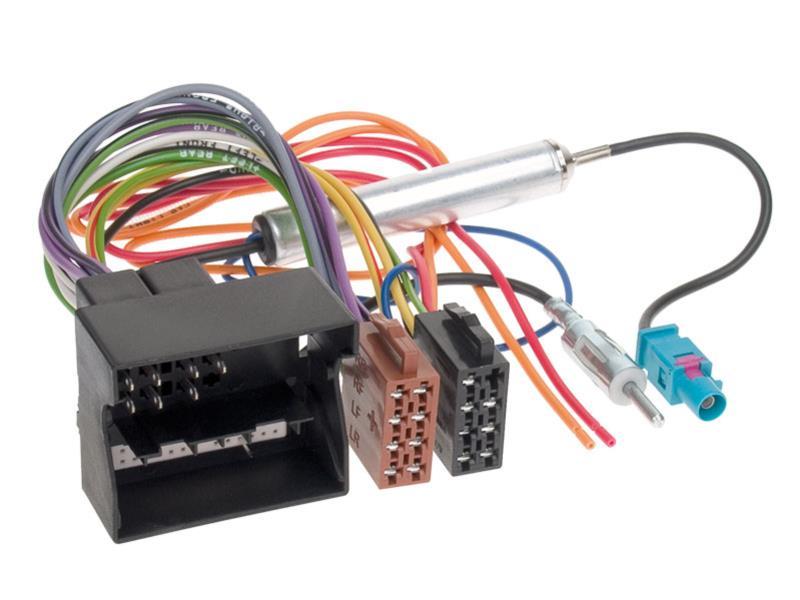 ACV 1230-46 Câble Radio antenne DIN avec alimentation fantôme adaptateur