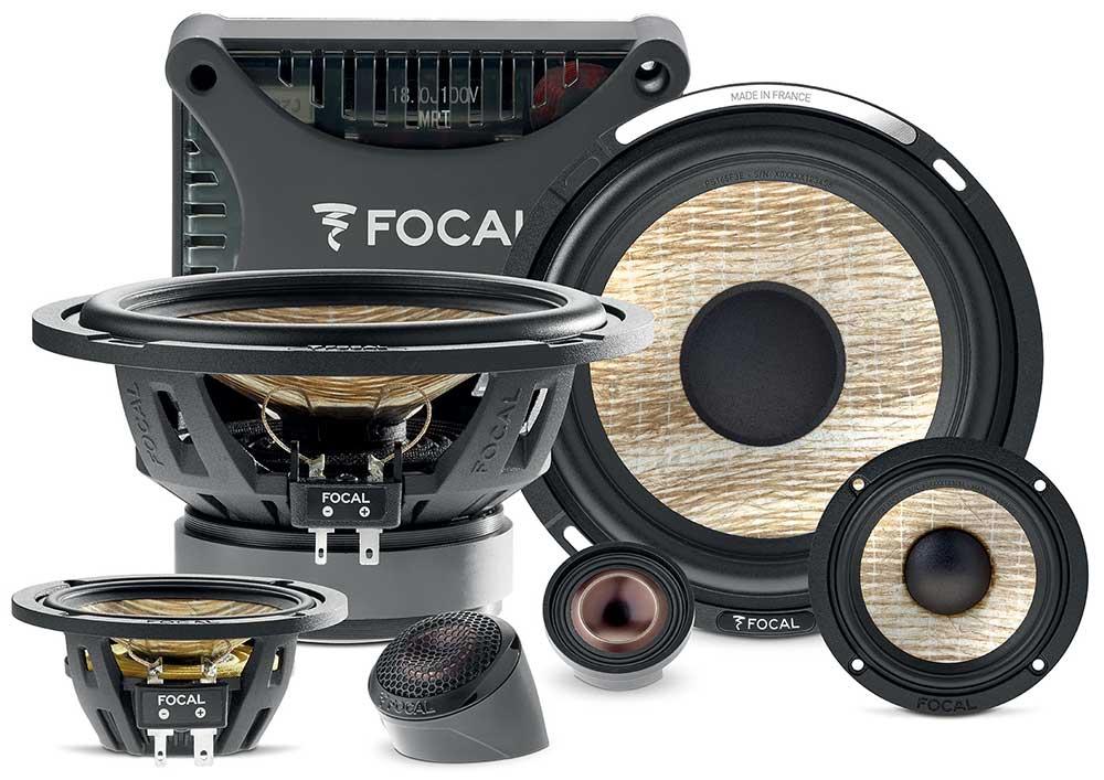 Focal Flax EVO PS165F3E 3-Wege Compo 3-Wege 165 mm Componenten-Lautsprecher Speaker