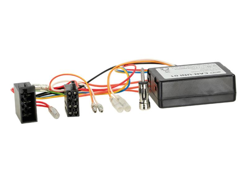 ACV 1001-46-15 CAN-Bus Kit Alfa -> Power + Speaker (ISO) + ISO Antenna connector
