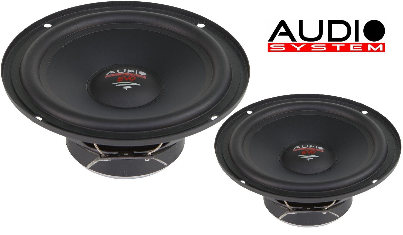 Audio System AS 165 EM EVO 16,5 cm Tief / Mitteltöner / Midrange Lautsprecher 1 Paar