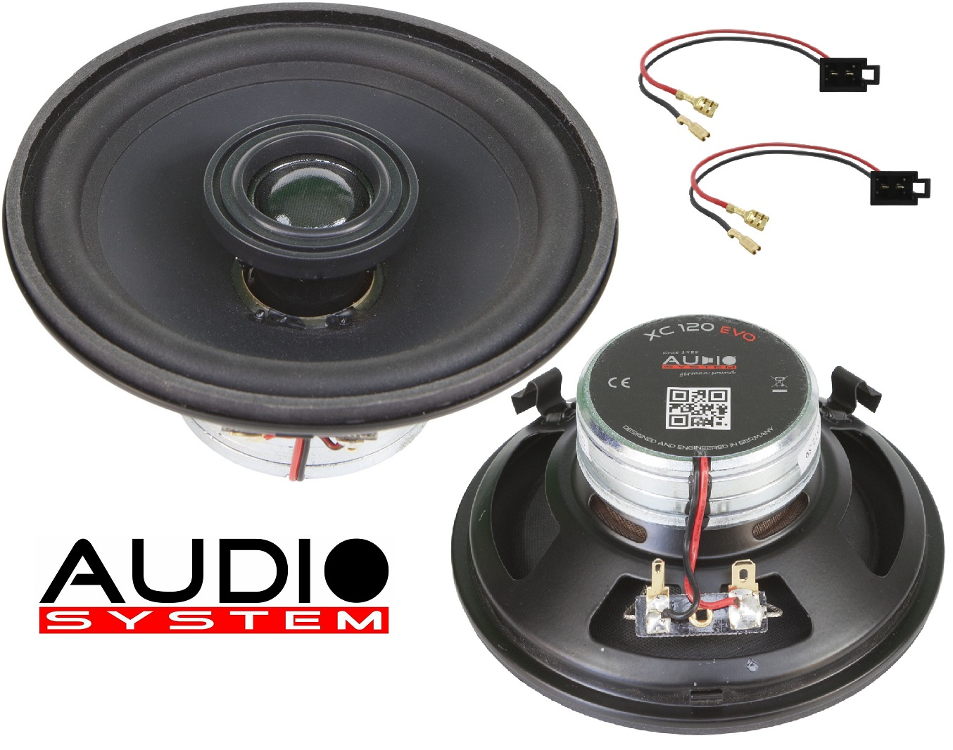 Audio System XCFIT VW T4 REAR EVO Lautsprecher X-SERIES Neodym Spezial Coaxial System 12cm 1 Paar