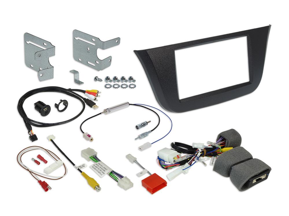 Alpine KIT-7ID 7-Zoll Einbauset für Iveco Daily 6 & 7 für INE-W720D / INE-W720DC / iLX-702D