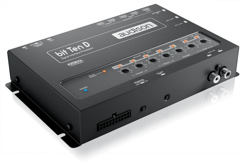 Audison bit Ten D - digitaler 5-Kanal Soundprozessor SIGNAL INTERFACE PROCESSOR