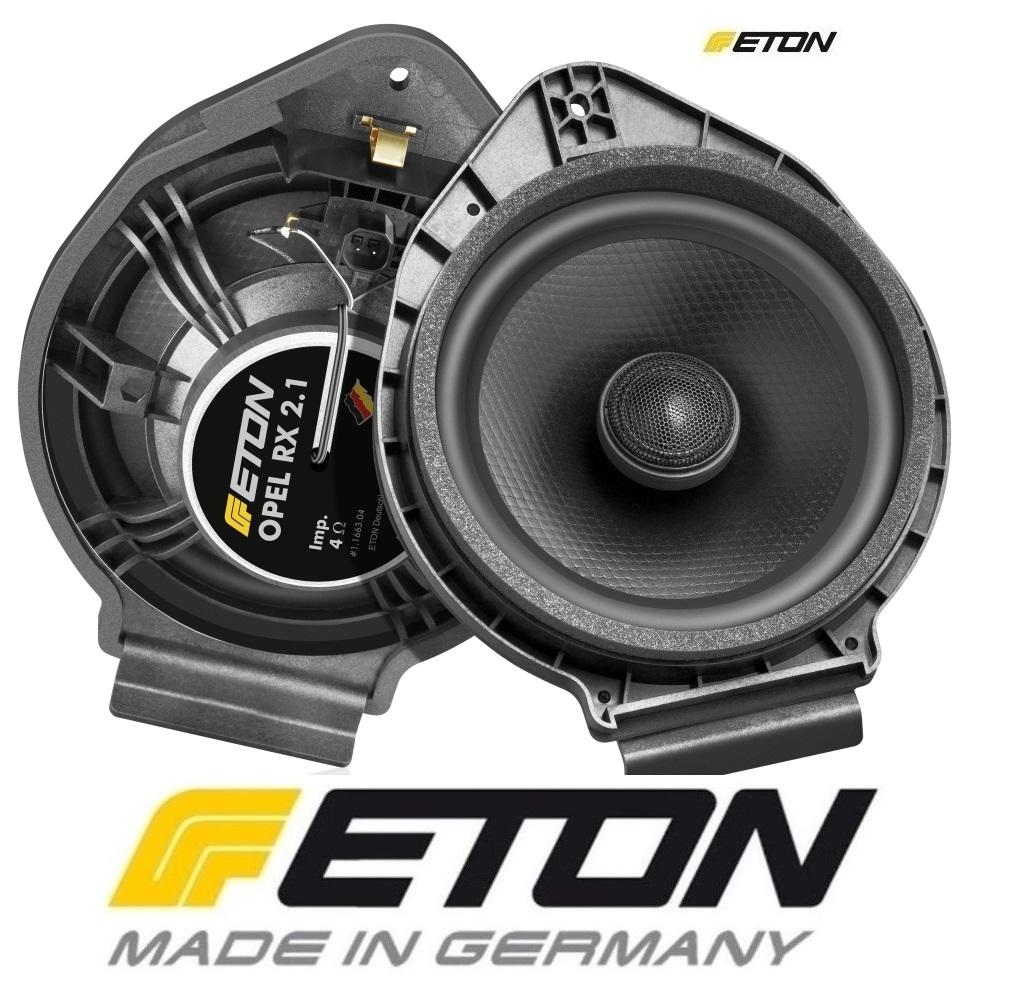 ETON OPEL-RX21 Upgrade Opel Universal 2-Wege Rear Lautsprecher Opel Adam, Opel Astra J, Opel Ampera, Opel Karl Opel Insignia, Opel Meriva, Opel Mokka, Chevrolet Malibu, Buick Encore