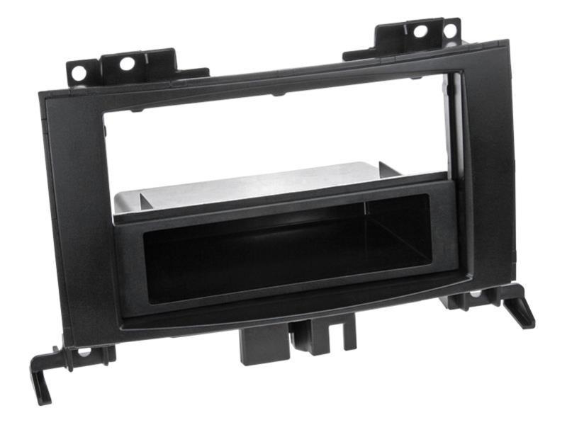 ACV 281190-27 2-DIN facia plate with pocket Sprinter/ VW Crafter black