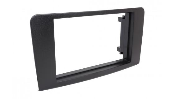RTA 002.065S1-0 Double DIN mounting frame , black M / ML ( W164 ) 05 - >