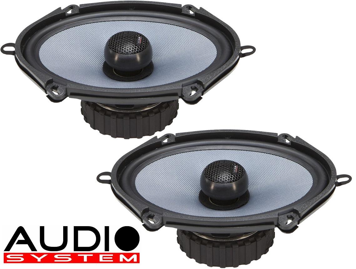 """Audio System CO 507 EVO 5""""x7"""" passend für FORD Modelle 1 Paar"""