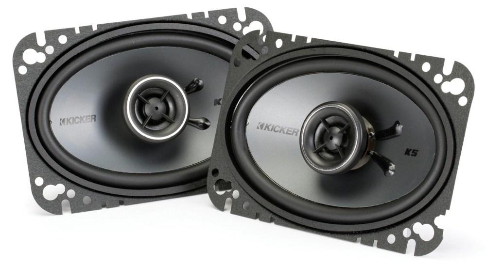 Kicker KSC46 4x6 Koax-Lautsprecher