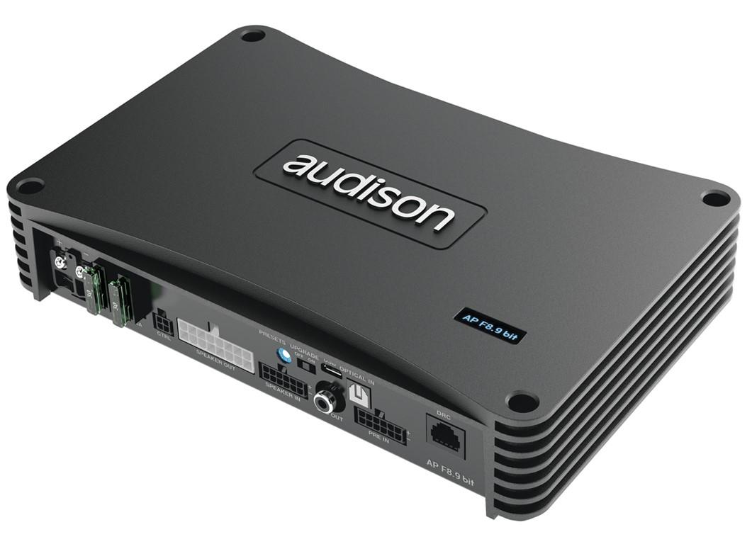 Audison Prima AP F8.9 bit 24V 8 Kanal Verstärker mit DSP 8 CH AMPLIFIER WITH 9 CH DSP
