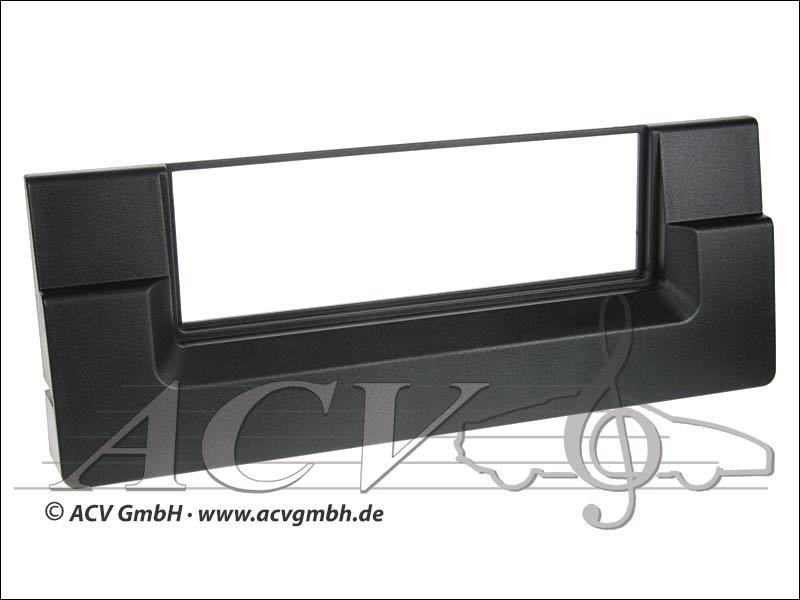 Radioblende Rubber Touch BMW 5er E39 / X5 schmale Ausführung