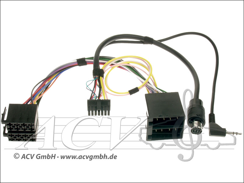 ACV 43dcts001 Citroën display and steering wheel adapter