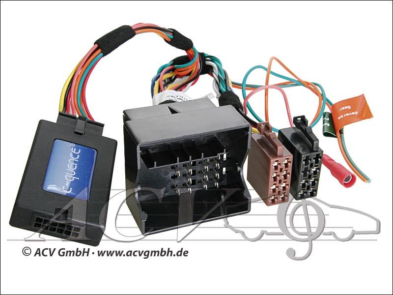 ACV 42-MC-501 CAN-Bus steering wheel adapter Mercedes -> Blaupunkt