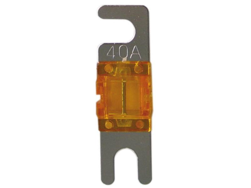 ACV 30.3940-40 Mini ANL fuse 40 Ampere ( silver ) 4 pieces