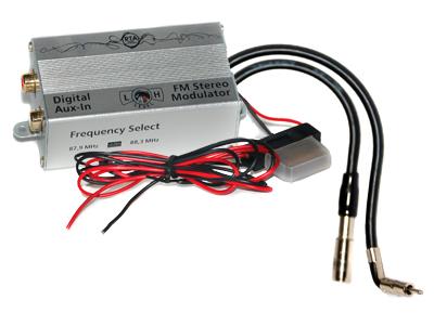 RTA 007.485-0 AUX IN - digitaler FM Frequenzwandler für Buick, Chevrolet, GMC, Hummer, Isuzu, Oldsmobile, Pontiac und Saturn Fahrzeuge