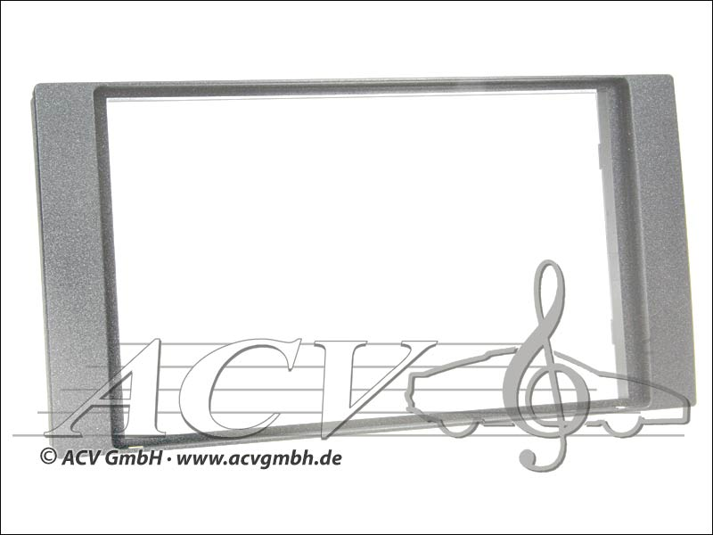 Radioblende Ford 2005 -> Double DIN silver