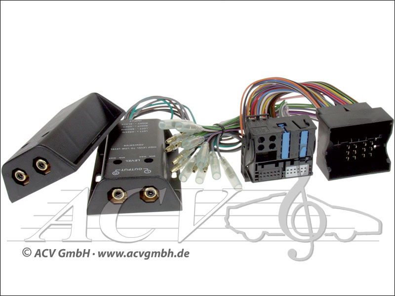 ACV 1424-50 Quadlock Sound Upgrade