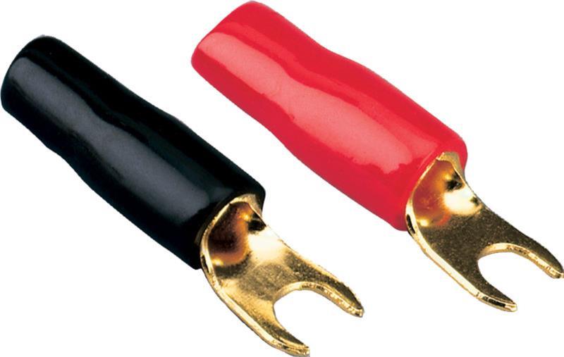 ACV 30.4440-03 Forks Ring 4 mm² 50 pièces noires