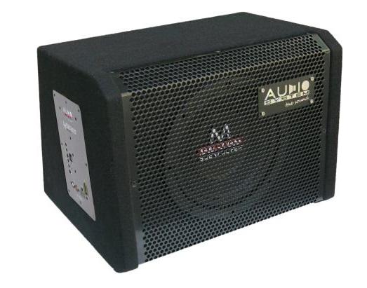 Audio System M 08 ACTIVE Bassreflexgehäuse mit M 08 + CO-200.1 Subwoofer + Monoamplifier