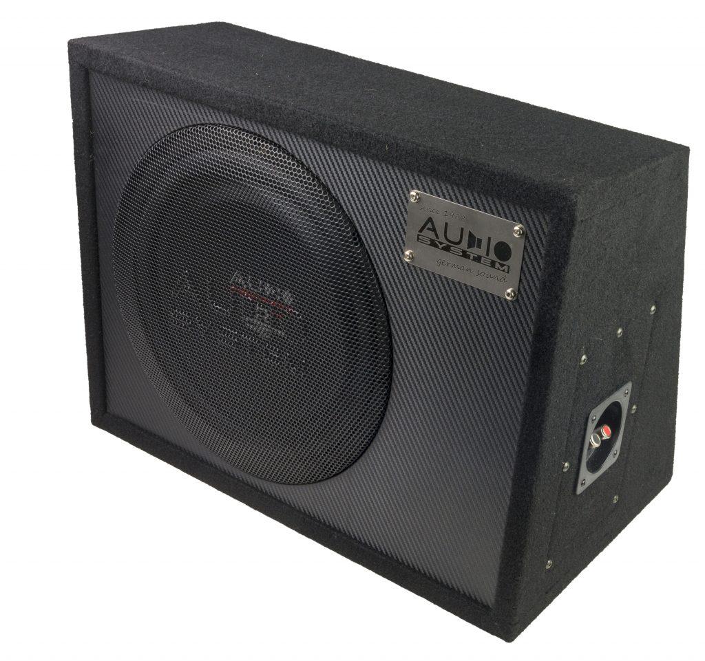 Audio System R 12 FLAT G ACTIVE EVO 30cm aktiver Subwoofer geschlossenes Gehäu