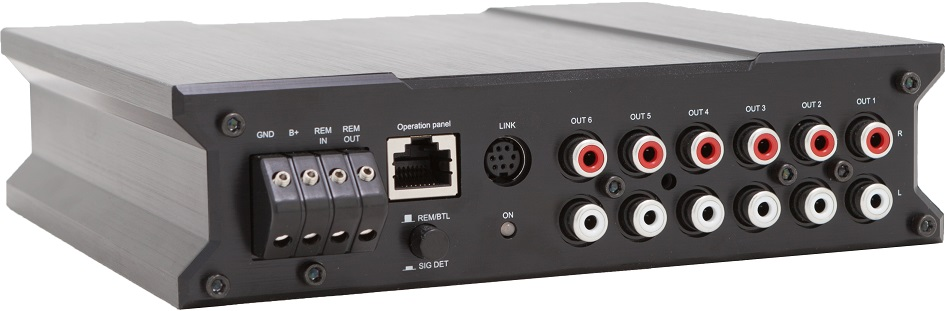 AUDIO SYSTEM DSP 4.6 6-Kanal Hochleistungs-DSP mit Freescale Multi-Core Chip