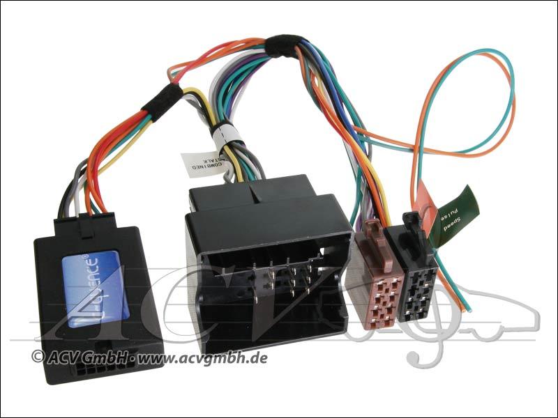 42-CT-603 CAN-Bus steering wheel adapter Citroen quadlock -> Sony