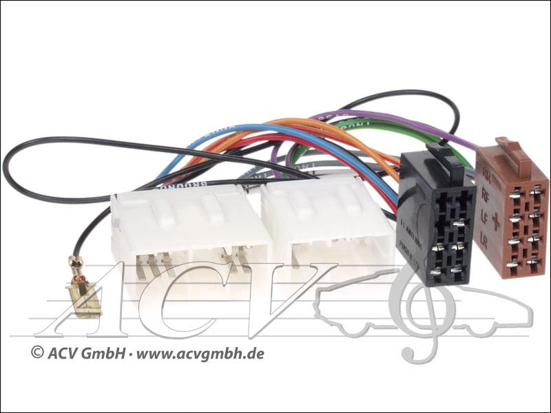 ACV 1170-02 Radioanschlusskabel Mazda