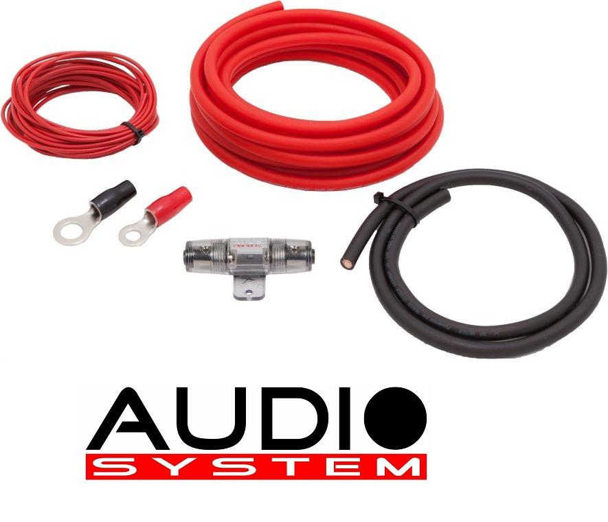 AUDIO SYSTEM Z-PCS 20-6 Kabelset Anschlußset 20mm² für Verstärker 6 meter